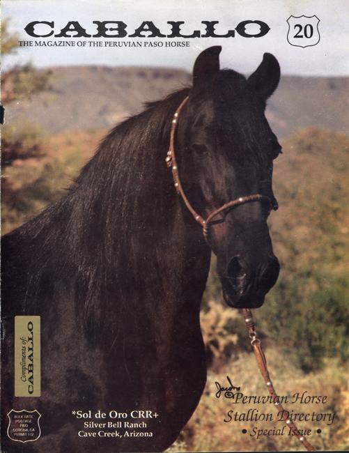 Caballo Horse Magazine Cover Bo Insogna