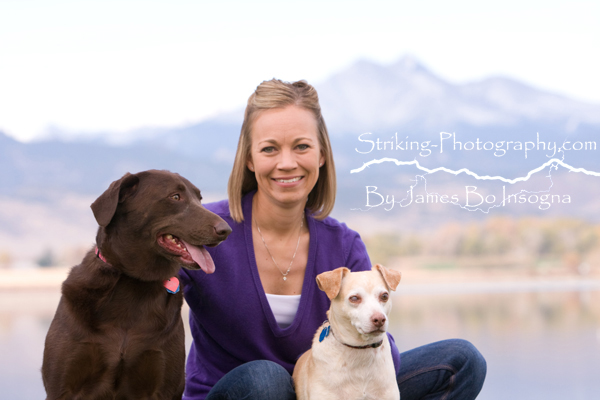 Family pet Portraits on location Longmont Colorado